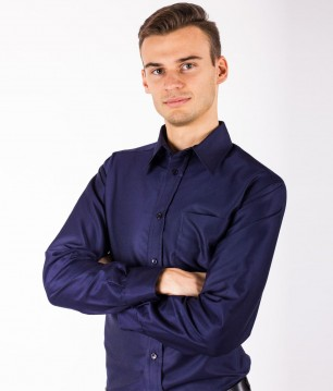 EMF Protective Mens Shirt Leblok (Navy)