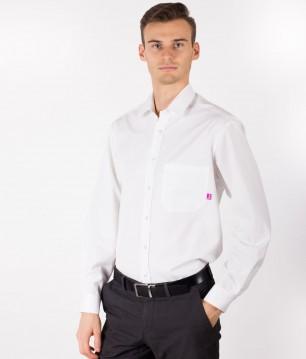 EMF Protective Mens Office Shirt Leblok (White)
