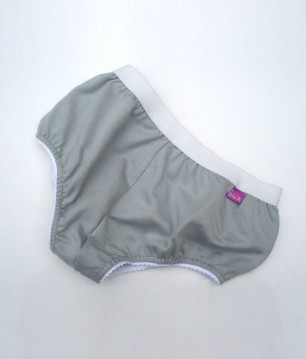 EMF Protective Womens Briefs (Grey)