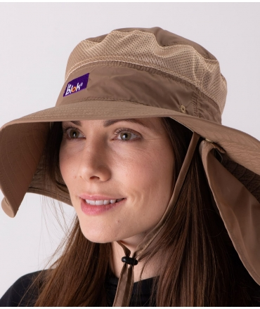 EMF Shielding Safari Hat with 100% UV Protection