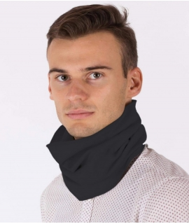 EMF Protective Hooped Scarf (Black)