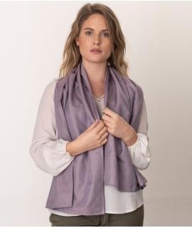 Leblok EMF scarf, Purple, Medium