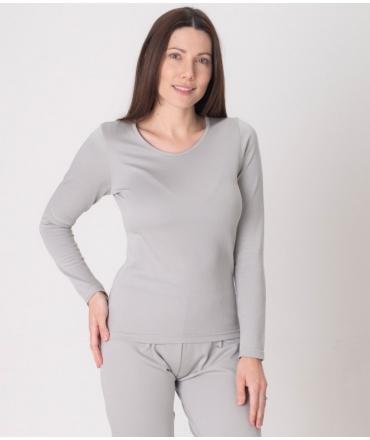 Leblok EMF long sleeved T-shirt, Women, Grey