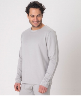 Leblok EMF T-shirt, Long sleeved, Grey