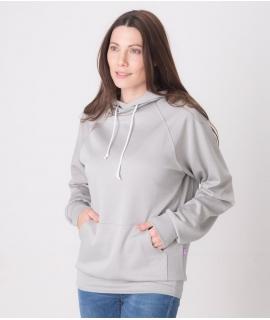 Leblok EMF Hoodie, Women, Grey