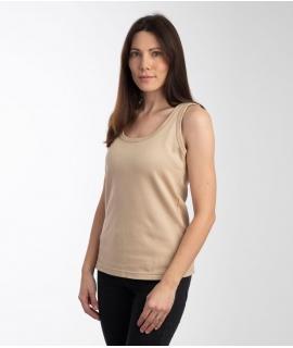 Leblok EMF Vest, Women, Beige