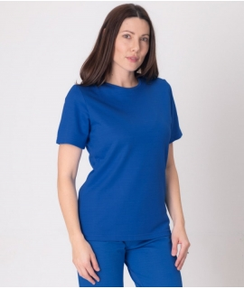 Leblok EMF T-shirt, Women, Blue