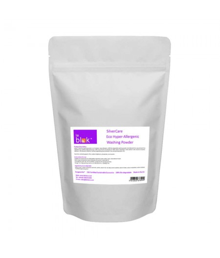 Leblok washing powder for EMF protective clothing